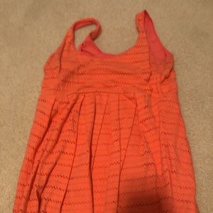 Bethany Mota Coral Dress